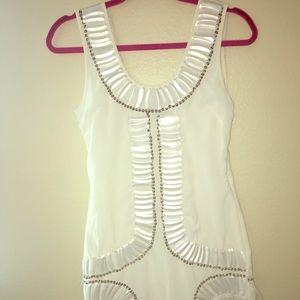 WHITE DRESS BY ASOS SIZE 6